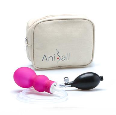 Zdravotnická pomůcka sloužící k předporodní přípravě a zpevnění svalů pánevního dna po porodu.